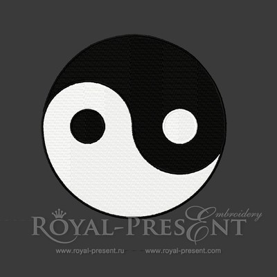 Machine Embroidery Design - Taoism