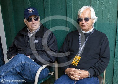 Preakness  2019 D Wayne Lukas and Bob BAffert
