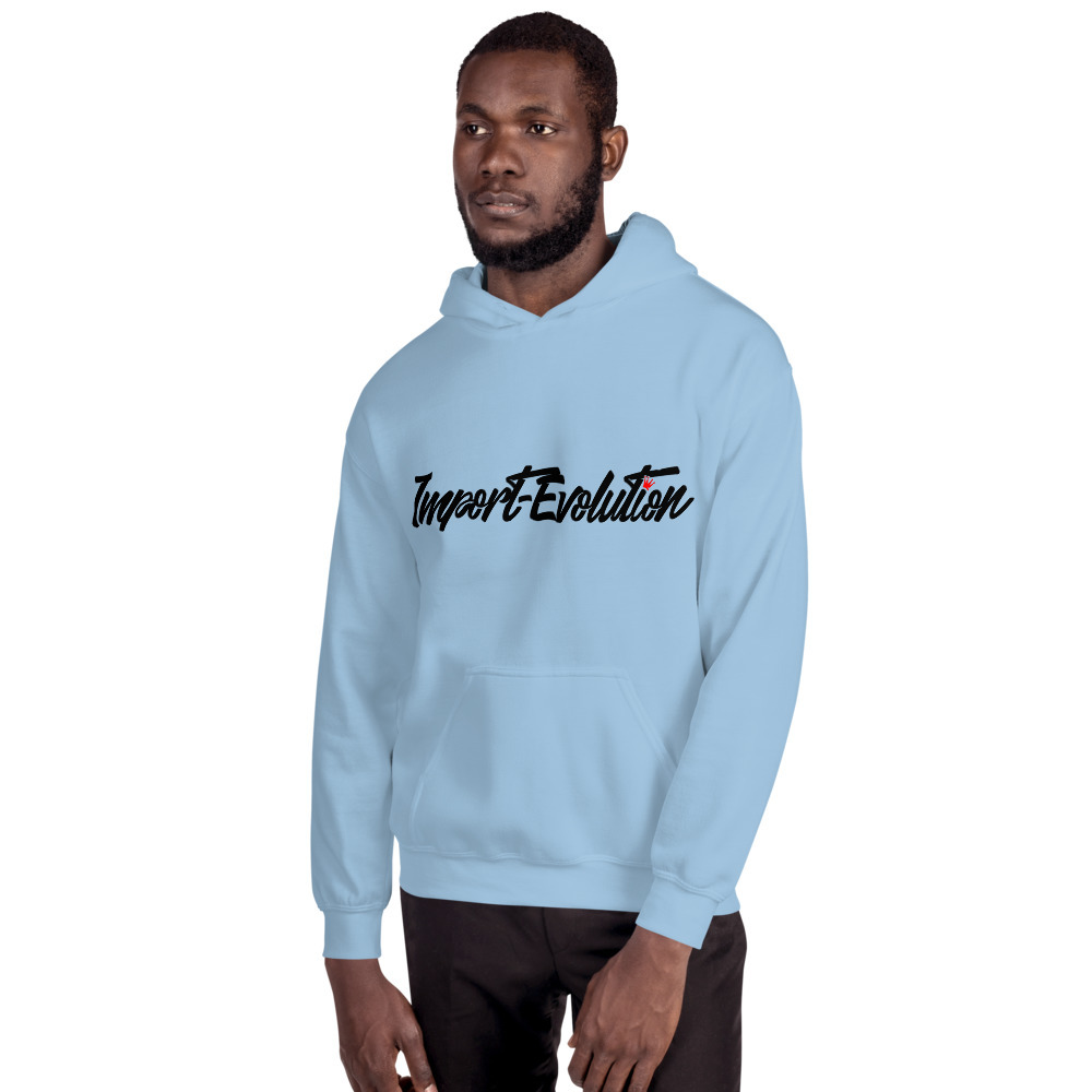 IE (Straight Logo) Hooded Sweatshirt