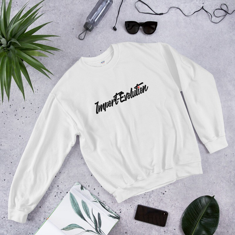 Front Print ONLY Crew Sweatshirt
