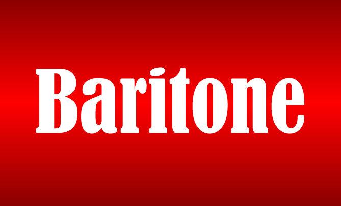Baritone Level Sponsorship 18SSPBR