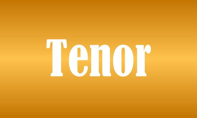 Tenor Level Sponsorship 18SSPTN