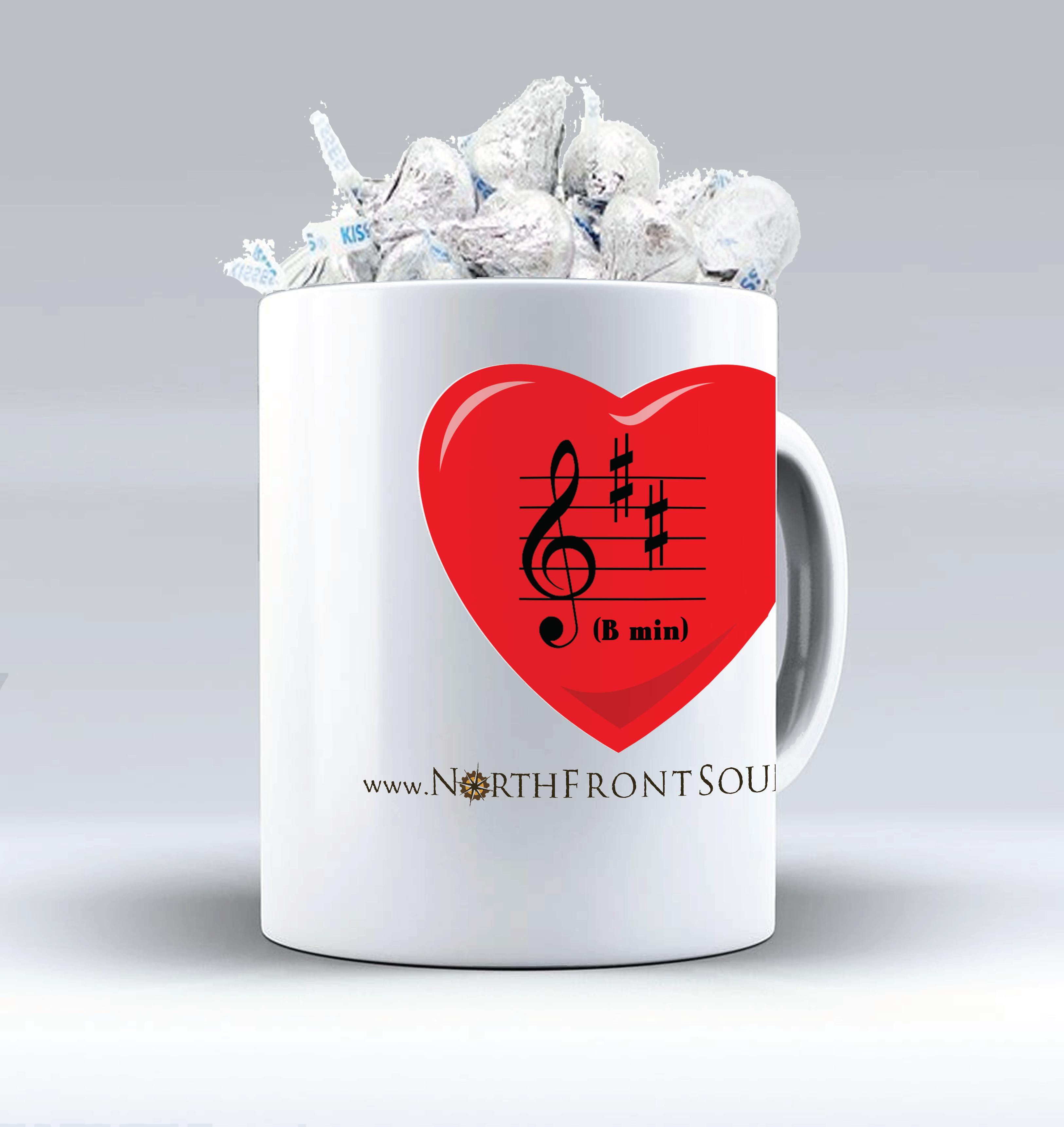 """Mugs & Kisses """"B Min(or)"""" M03BMIN"""