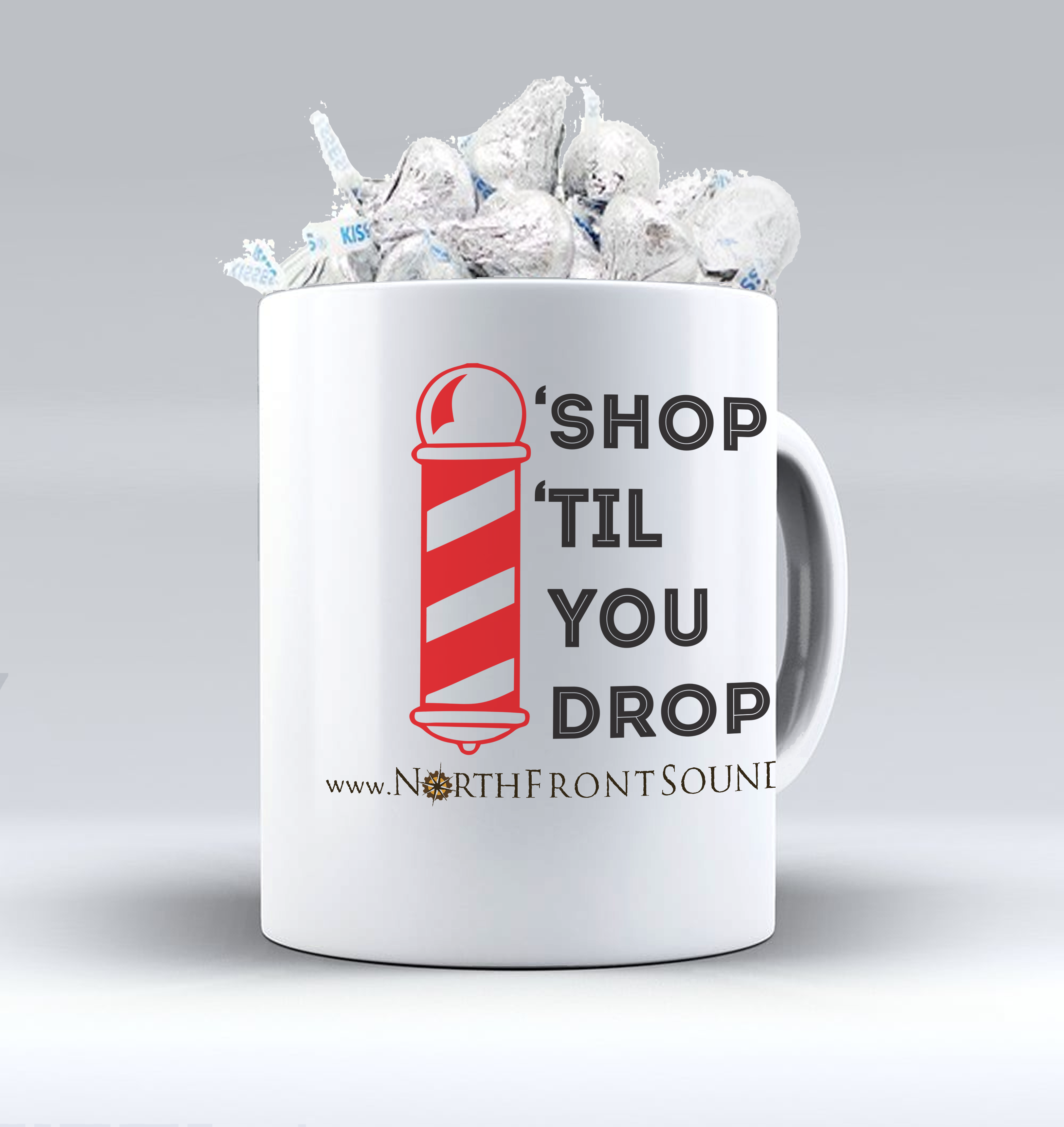 "Mugs & Kisses ""'Shop 'Til You Drop"" M05STYD"