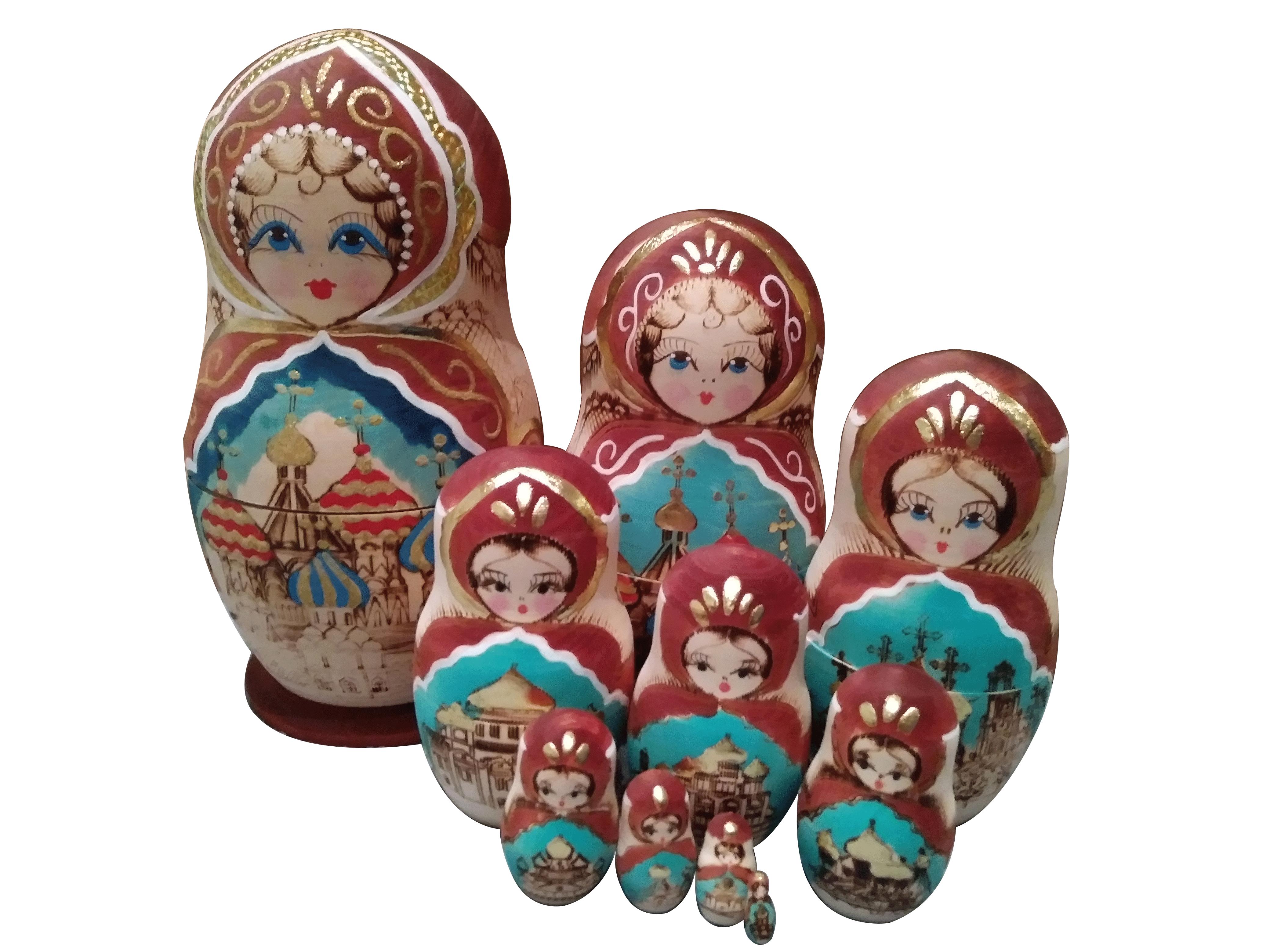 Golden Russian Churches 00017