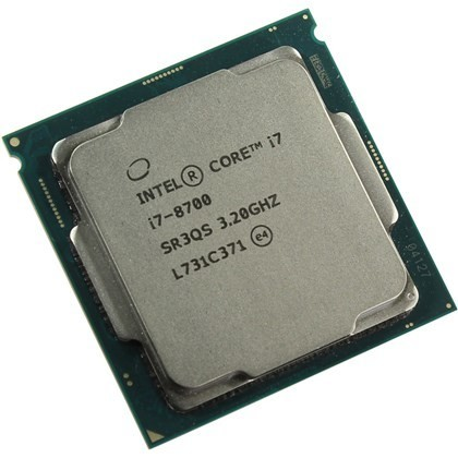 INTEL CORE i7 8700 3.2GHZ 12MB 6 CORES TRAY