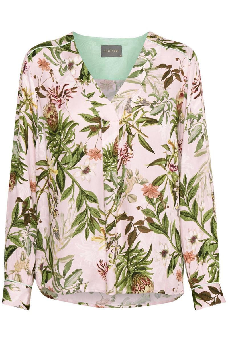 Sidra blouse-Tan
