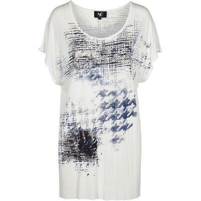 T-skjorte med print