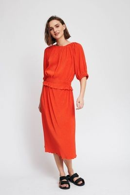 Kacee Dress-Orange