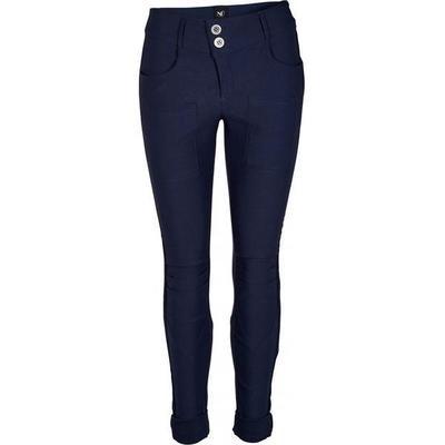 Nola stretchbukser-Blå