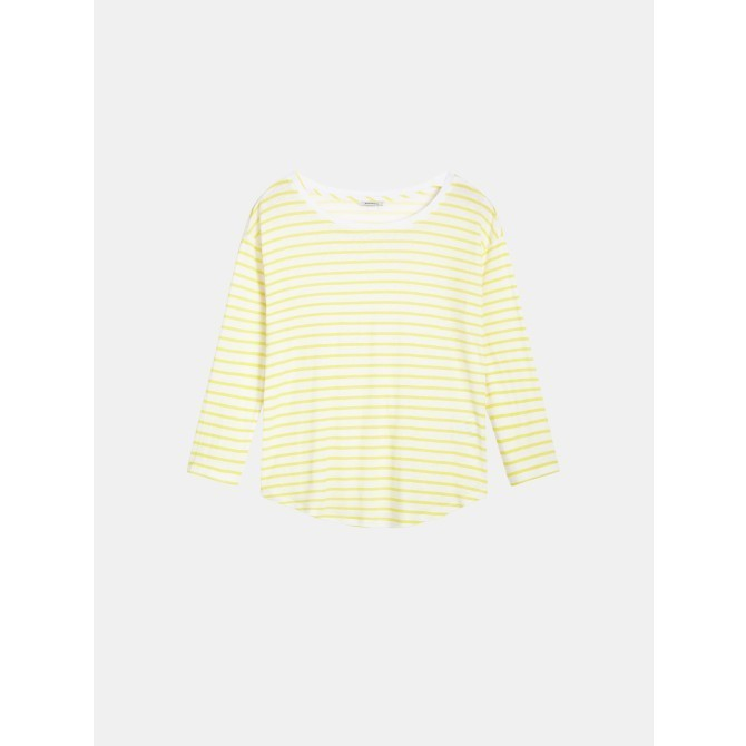 Striped long sleeve - Blazing Yellow