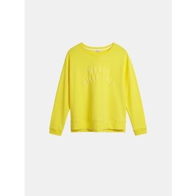 Sweatshirt-Blazing yellow