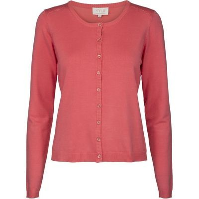 Laura cardigan-sugar coral