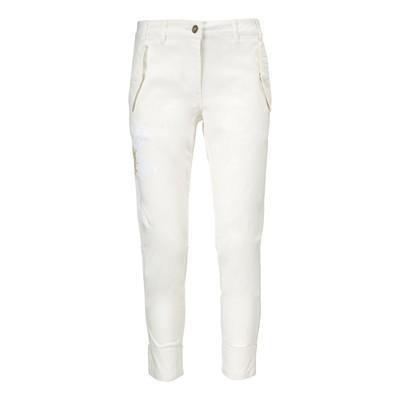 Cropped pants/m broderier