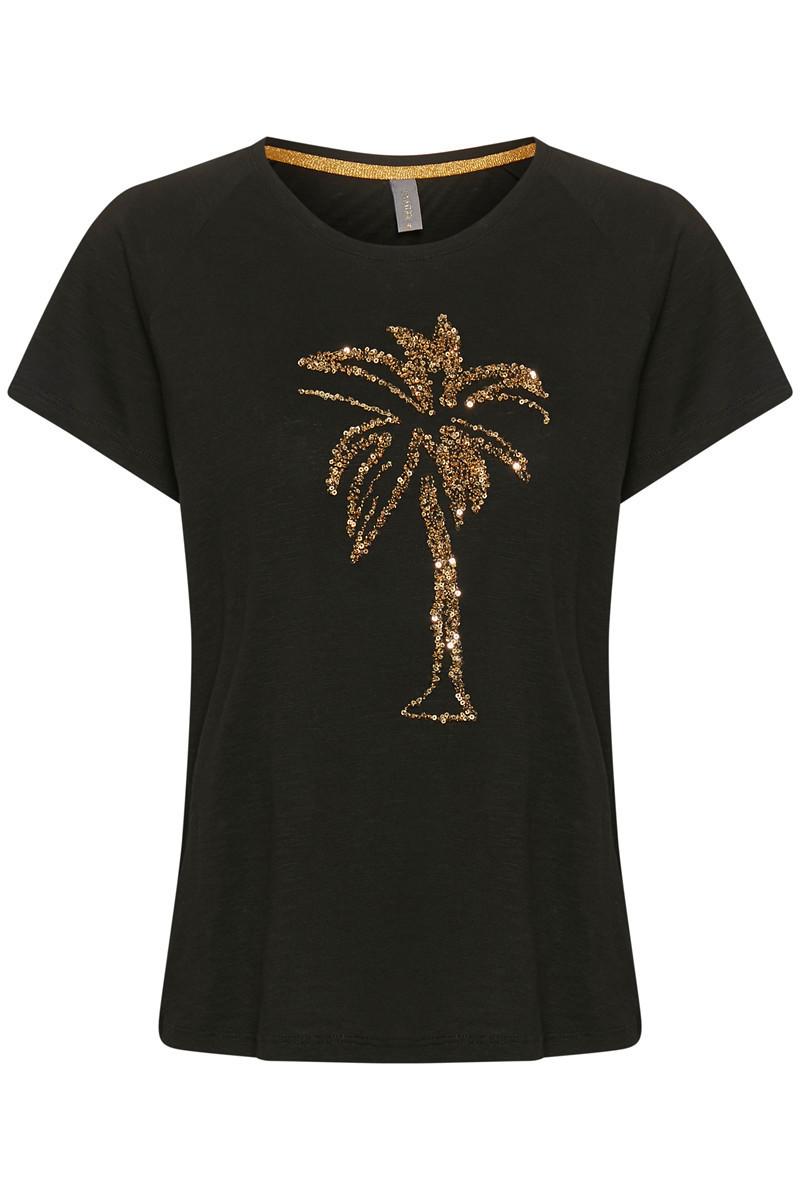 Uellemi T-shirt,sort