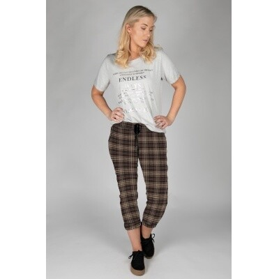 Tundra trousers Pin/squere Brown