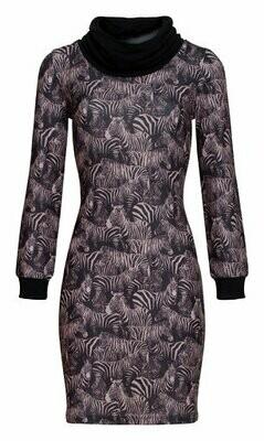 Zebra kjole