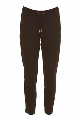 New Columbine plain pant-brown