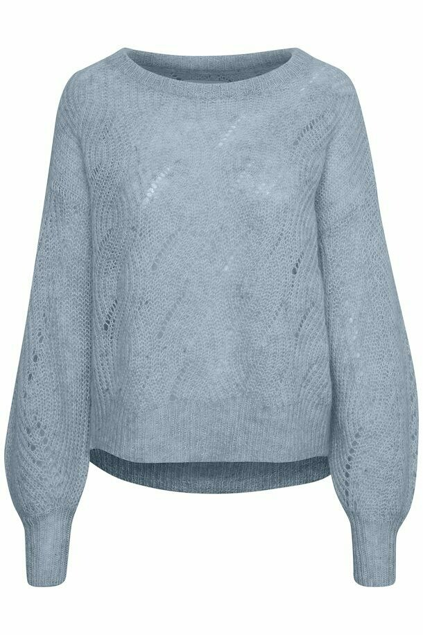 Tacita Pullover-Dusty blue