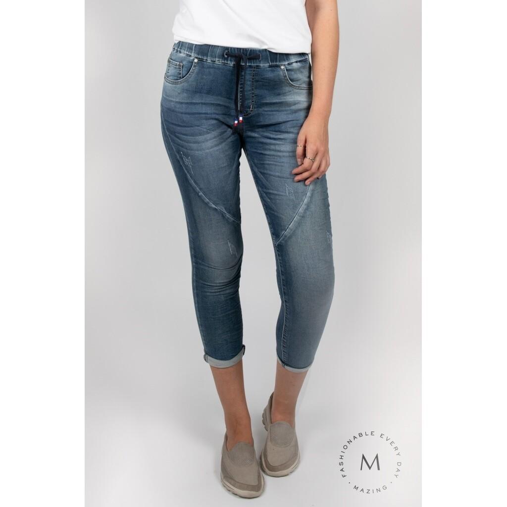Tundra denim trousers-Blue
