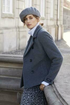 Mandala Jacket-Grey melange