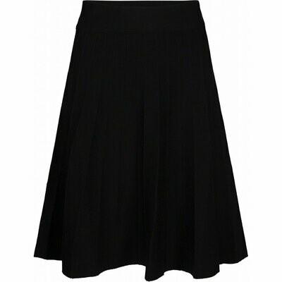 Sola knit skirt- sort