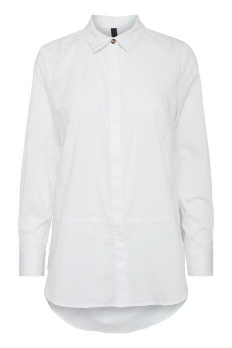 ZELNA L/S Shirt-Optical White