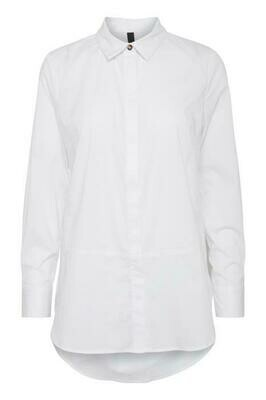 ZELNA L/S Shirt-Optical White