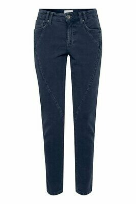 Rosita Skinny Bukse-Blue Marine
