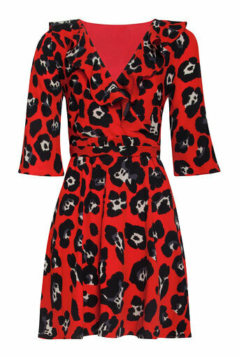 Red/black Dress