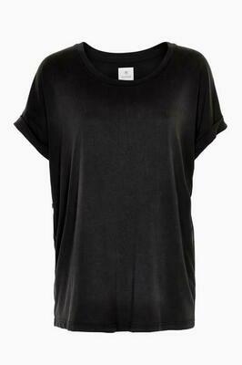 Kajsa T-shirt-Black Wash