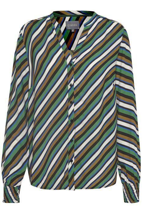 Rosalinde Shirt-Verdant Green