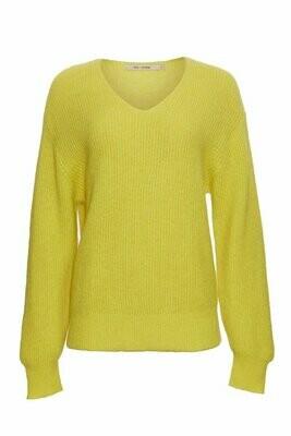 Pila knit-elektrisk gul