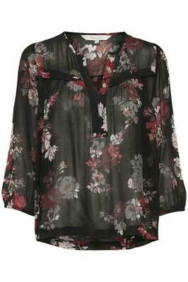 Vally Blouse-Sort