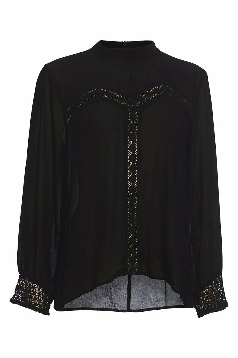 Thea blouse-Sort