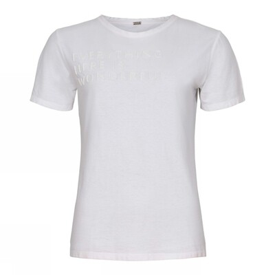 Statement t-shirt-off white