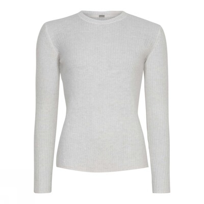 Rib knit-Off white