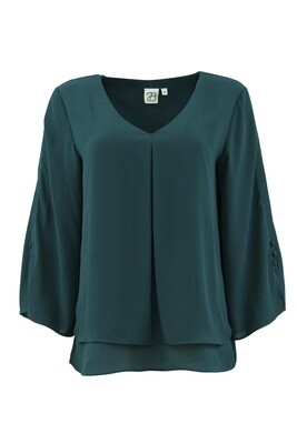 Witta Blouse-Deep Blue