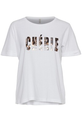 Cherie T-shirt-optical white
