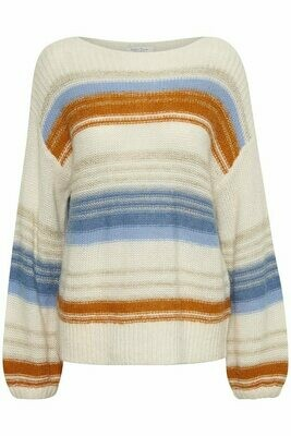 Afrodite Pullover-Mix stripe