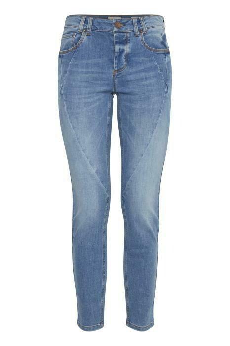 Rosita Jeans-Light blue denim