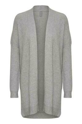 Olivia Cardigan-Light grey mela