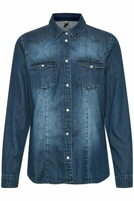 Paola Shirt-Blue Wash