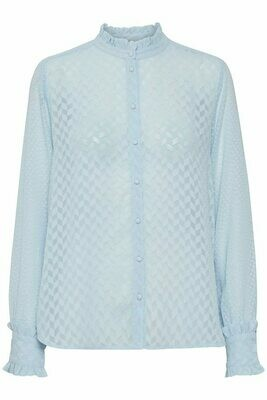 Shirley Shirt-Cashmere Blue
