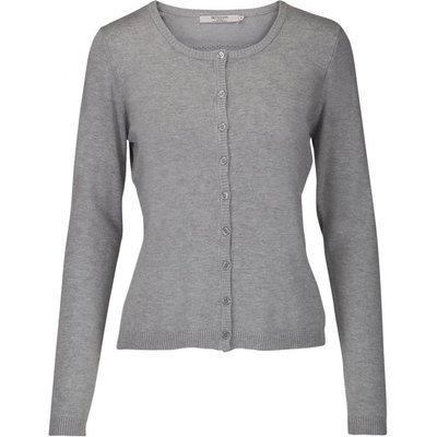 New Laura cardigan light grey melange