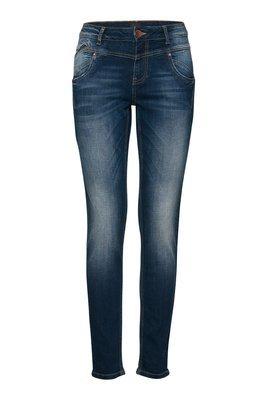 Carmen skinny highwaist medium blue