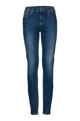Mia highwaist skinny medium blue