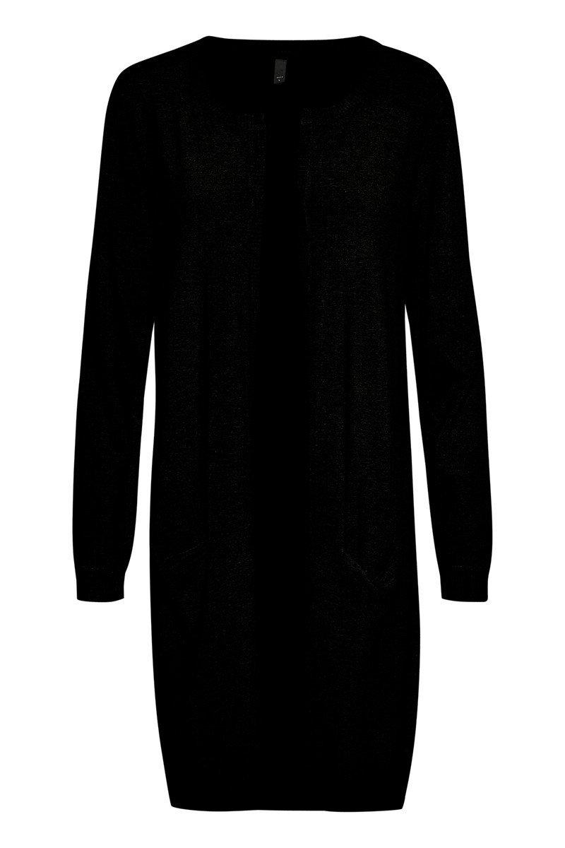 Sara long cardigan black