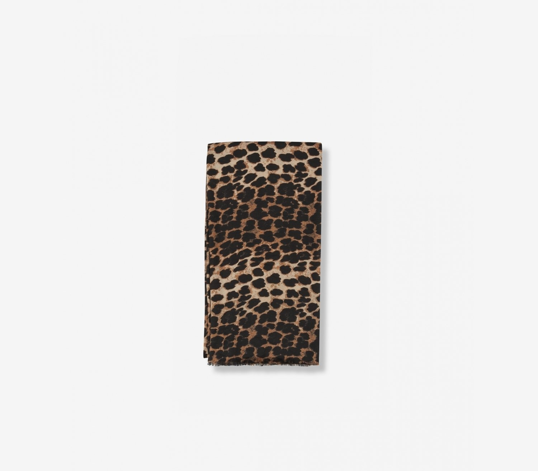 Leopard skjerf