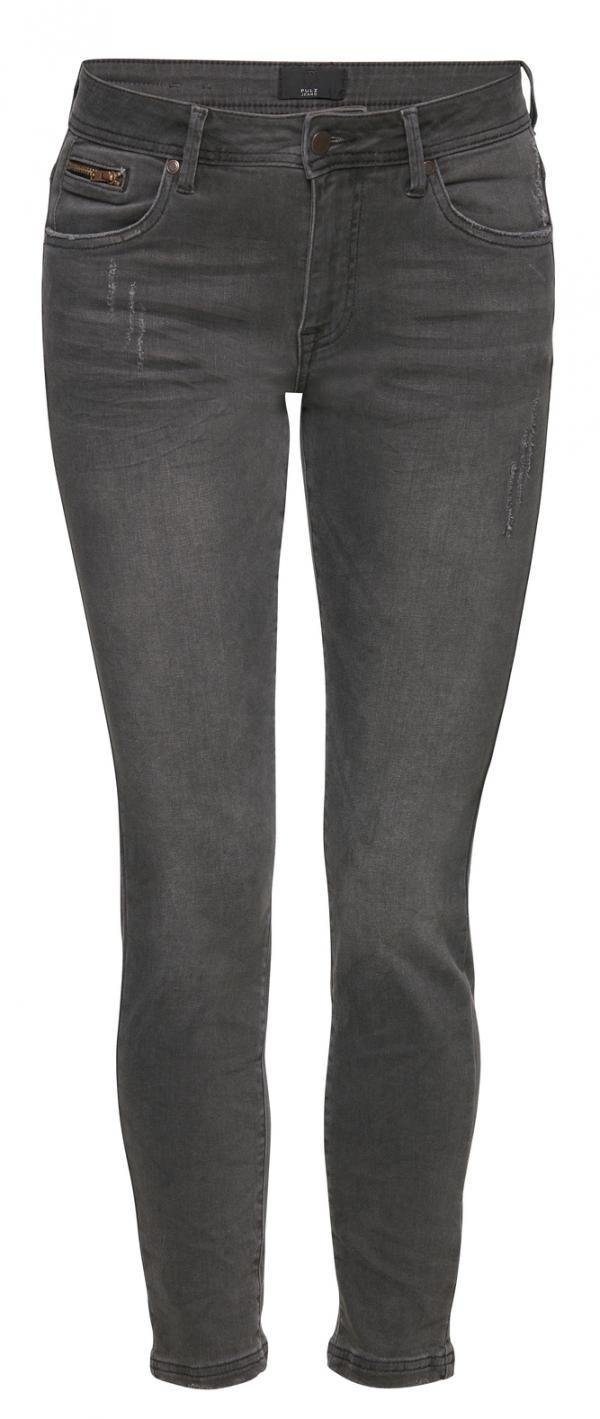 Elvira highwaist 7/8 grey denim